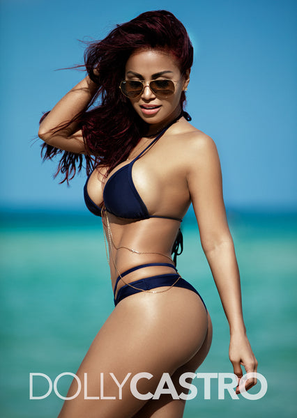 Dolly Castro Poster - Beach