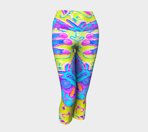 Lady MacBeth's Yoga Butterfly Capri
