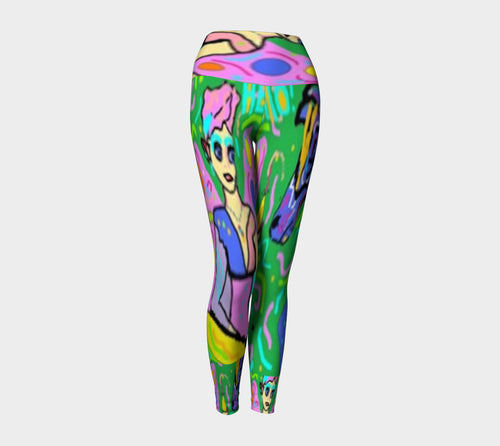 Lady MacBeth's Fairy Kiss Yoga Leggings