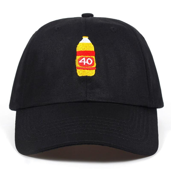 40oz Dad Hat // kastle.brixx