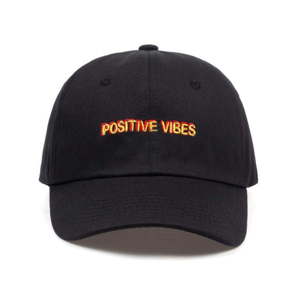 Positive Vibes Dad Hat // kastle brixx