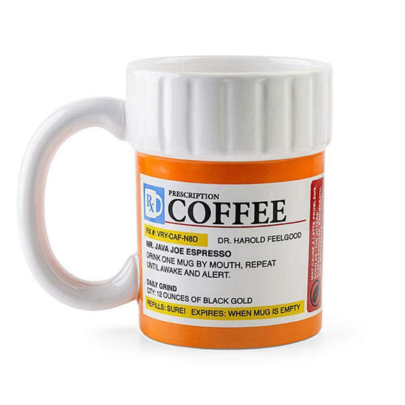 Prescription Coffee Mug // kastle.brixx