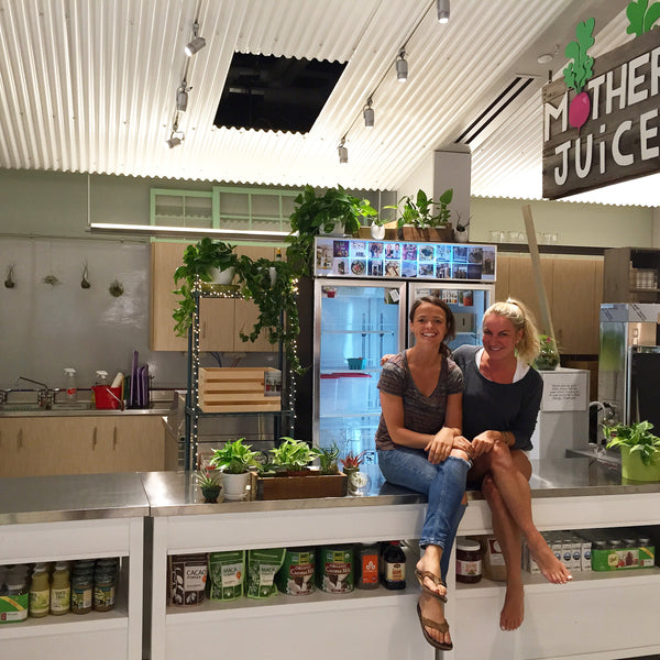 Laura Baldini & Ellen Fitzgerald of Mother Juice