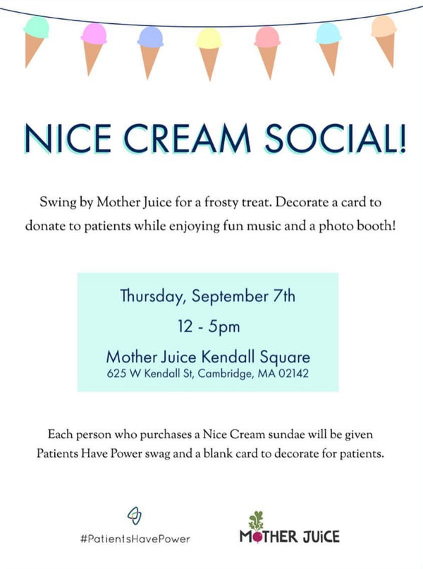 Mother Juice Nice Cream Social