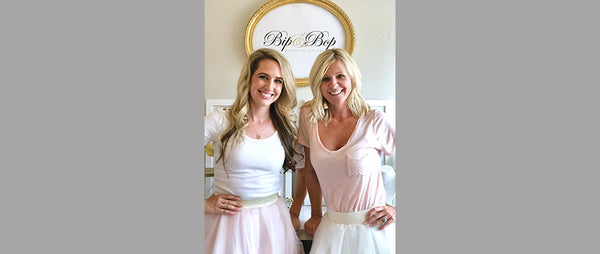 Erin & Gretchen of Bip & Bop