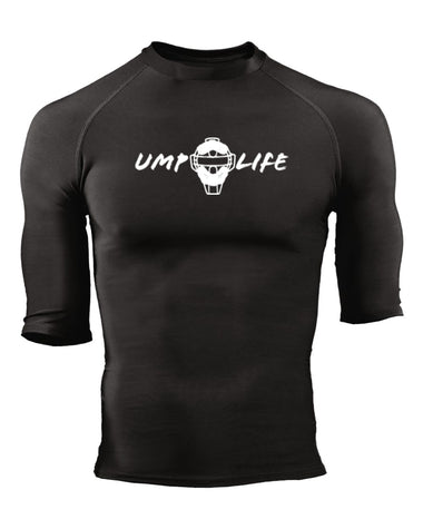 Ump Life Pro-Compression 1/2 Sleeve Crew