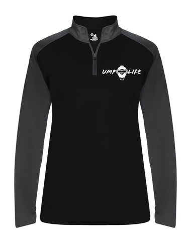 Ump-Life Ultimate SoftLock Sport Ladies 1/4 Zip