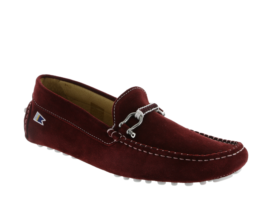 Deck Driver - Anamone Maroon Suede