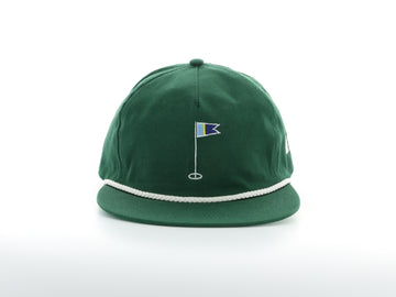 Green Golf Flag Hat