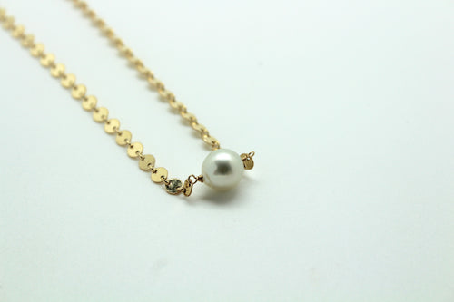 N Coin South Sea Pearl