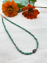 Load image into Gallery viewer, N turquoise & Tahitian Keshi pearl