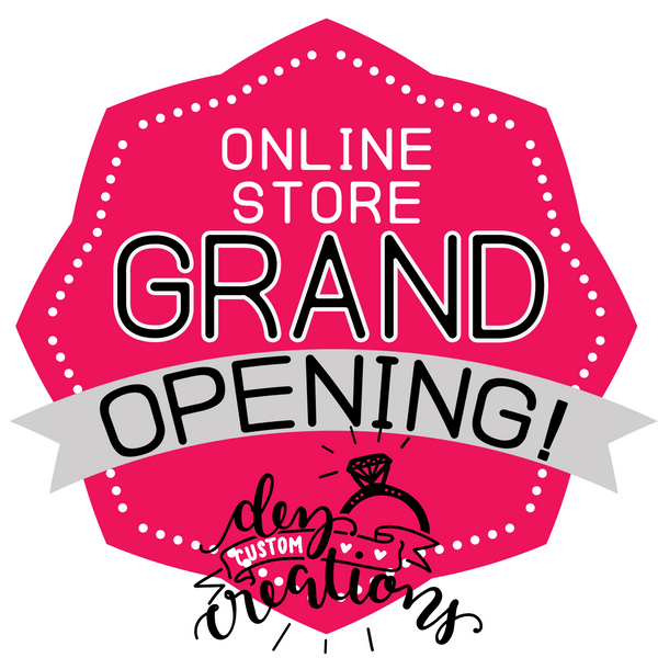 Website Grand Opening! (And Coupon Code) ;)
