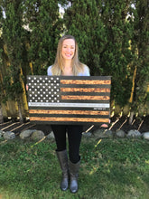 3D Wooden American Flag