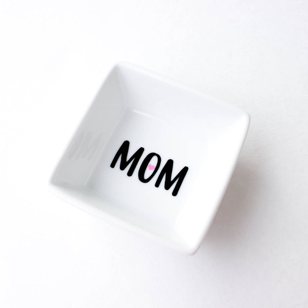 'Mom' Ring Dish - Mother's Day Gift