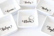 Personalized Ring Dish - Gift for her - Stocking Stuffer idea