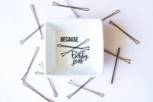 Because Bobby Pins - Bobby Pin holder