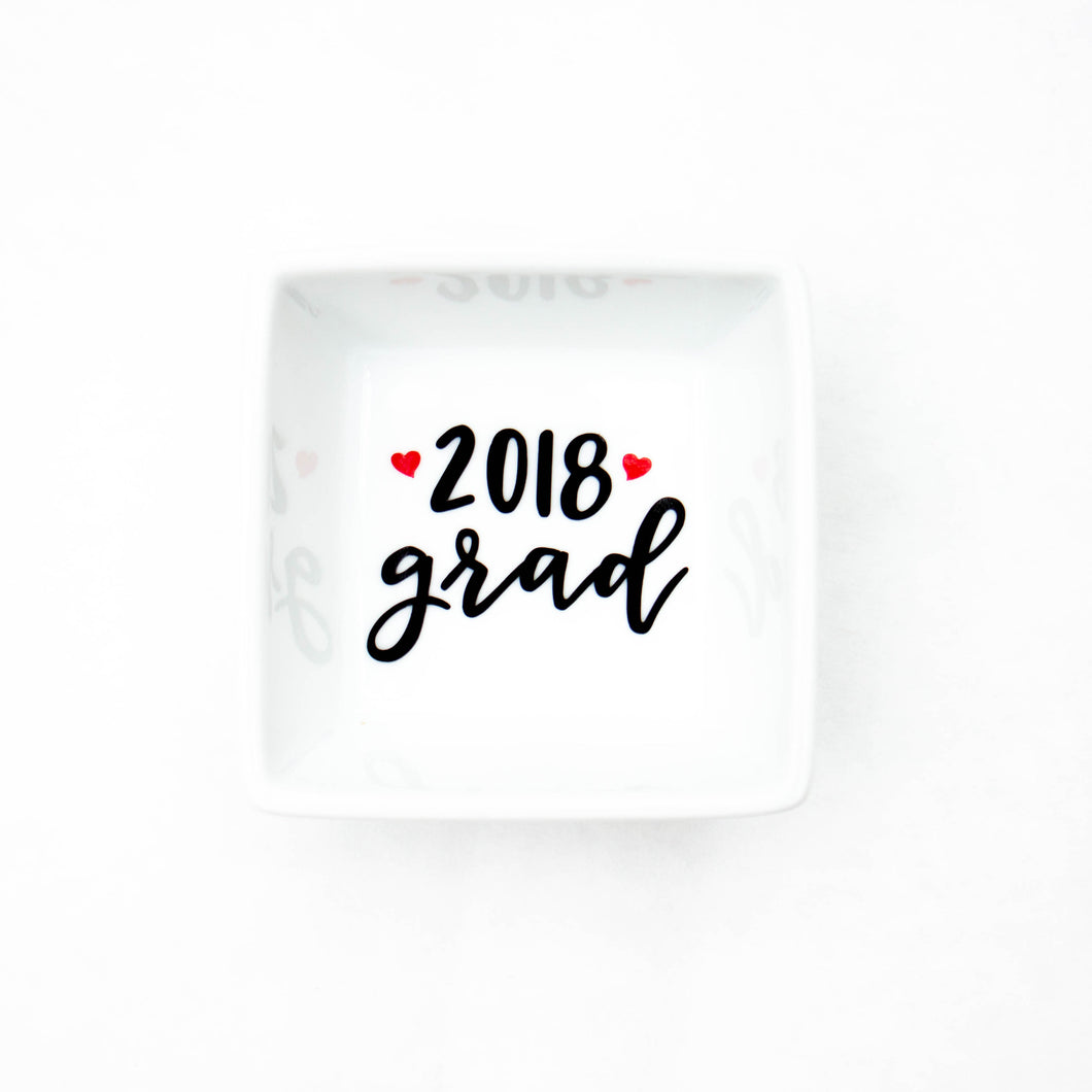 2020 Grad Ring Dish - Graduation Gift