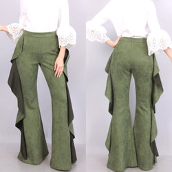 Stacy Ruffle Pants