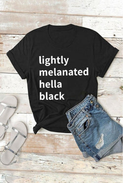 Hella Black T Shirt