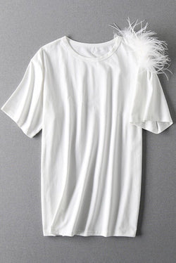 Feather T Shirt