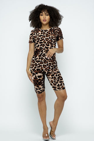 Animal Attraction Short Set