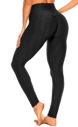 High waist Ribbed Yoga Leggings