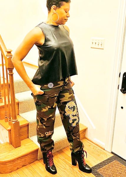 MinT Couture by TL Camo Pants