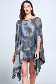 Poncho Tunic Top