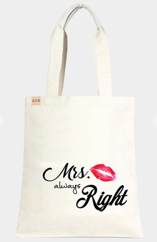 Mrs Right Tote