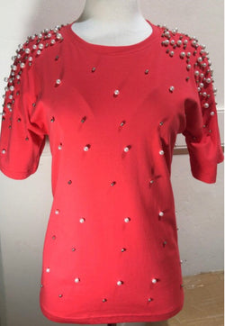 Diamonds & Pearls Top