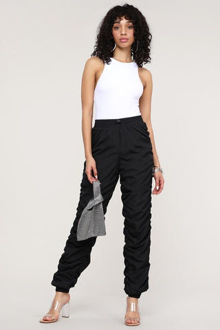 Ruched Jogger Pants (Plus)