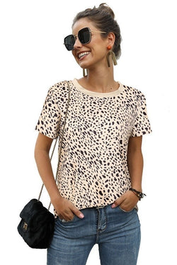Leopard Print Top (Large-2XL)