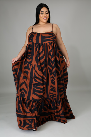 Abstract Print Maxi (Plus)