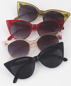 Lucite Cat Eye Sunglasses