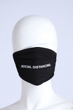 Social Distancing Fashion Face Masks