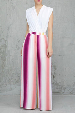 Plum Crazy Wide leg Pant