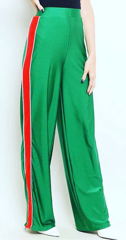 Side Contrast Stripe Pant