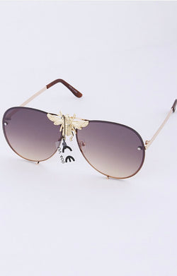Queen Bee Aviator Shades