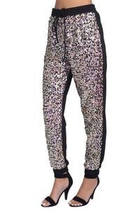 Sequin Front Joggers