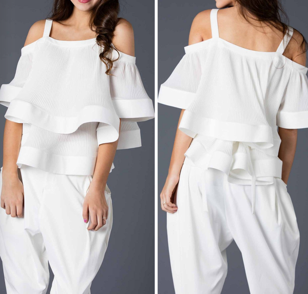 Michele Cold Shoulder Top