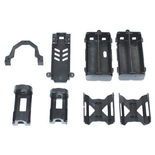 Battery Compartment Assembly+ PCB plate+Upper Deck+PCB Mount for Sumo RC