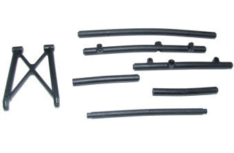 Front Bumper Brace & Roll Cage Side Rails Assembly