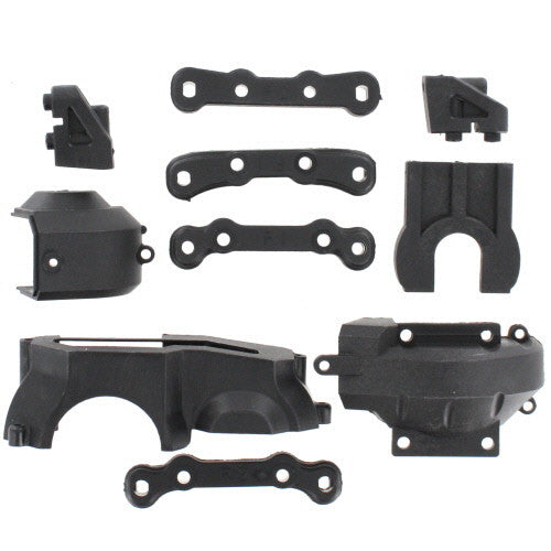 Center Diff. Mounts, Suspension Mount Sets, Servo Retainers, Center Diff. Retainer V2