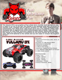 Volcano EPX Truck 1/10 Scale Electric (Red)