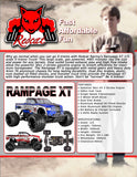 RedCat Racing, Rampage XT, Features