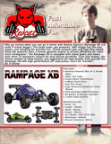 Rampage XB Buggy 1/5 Scale Gas (Blue)