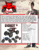Everest-16 Crawler 1/16 Scale Electric (Red)
