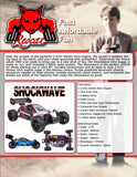 Shockwave Buggy 1/10 Scale Nitro (Red)
