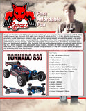 Tornado S30 Buggy 1/10 Scale Nitro (Red)