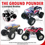 Ground Pounder 1/10 Scale Electric Monster Truck (Blue)